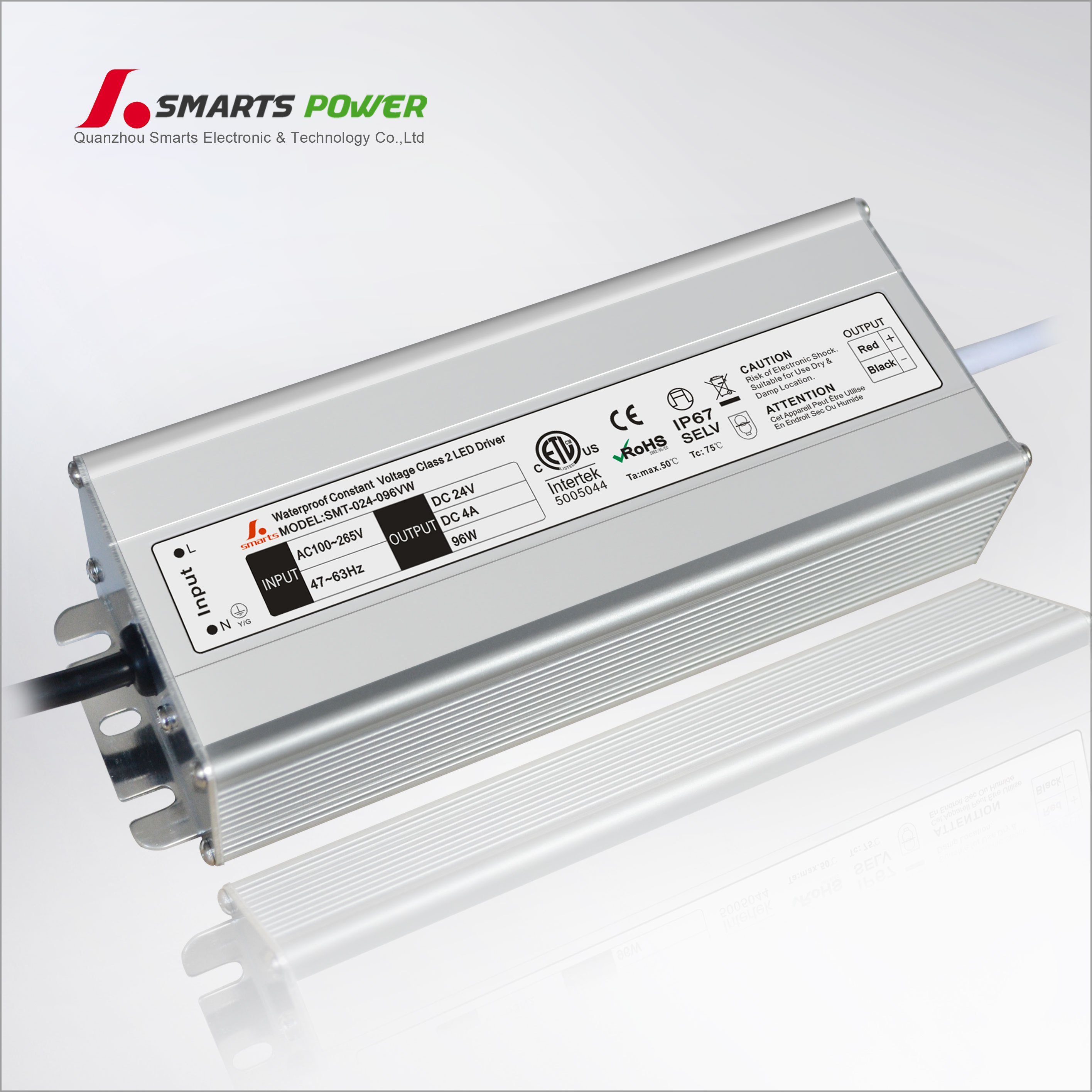 Custom Class 2 Ac 110v 120v Dc 24 Volt Constant Voltage 96w 100w Led Switch For 12v Or 24v Lights Specifications Driver Mechanical Specification