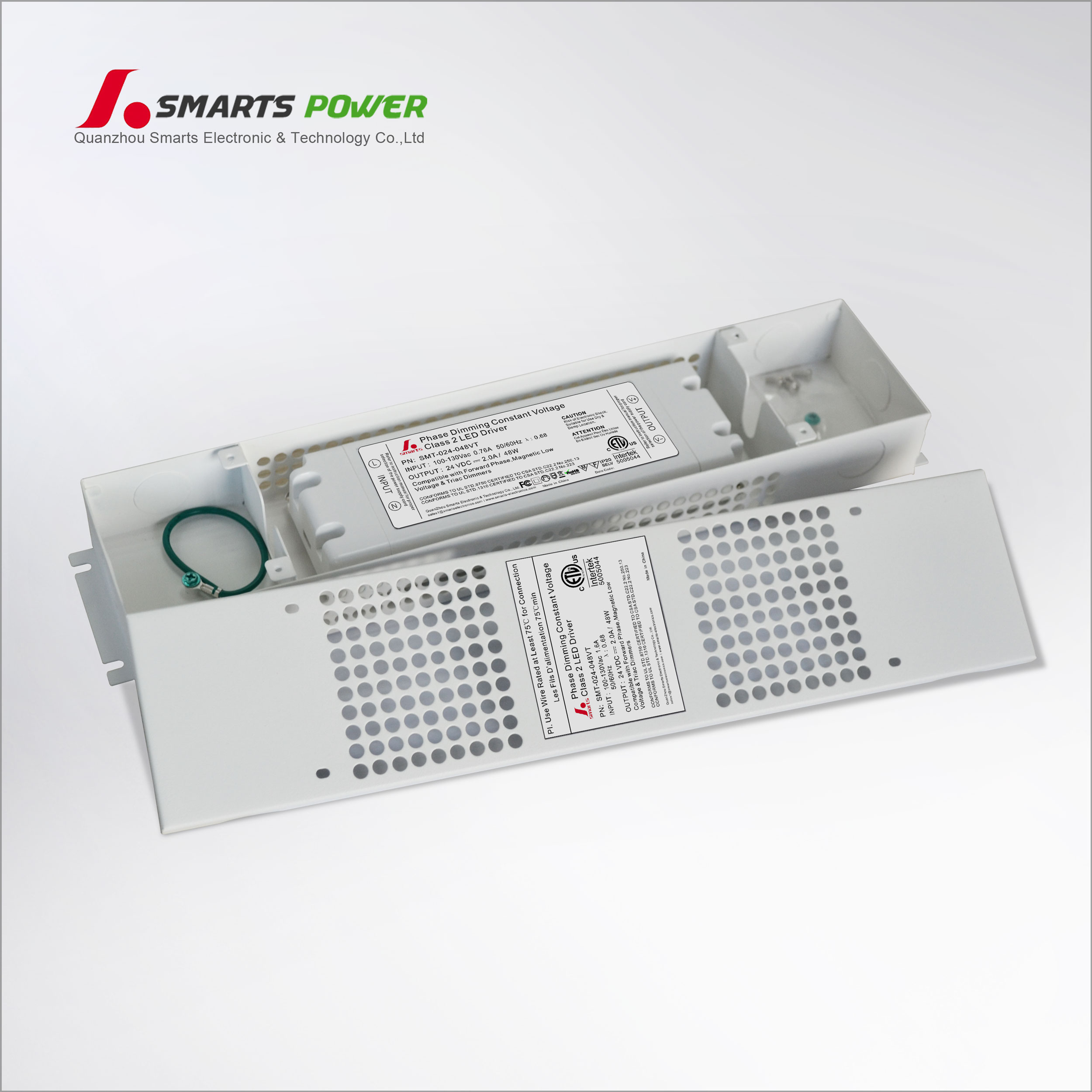 Etl Listed Class 2 Dimmable Triac Led Driverled Sign Driver Power Drivers 0 10v Dimming Wiring Diagram On 3 Way Dimmer 24v 48w