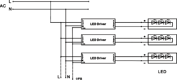 custom ul listed ac to dc 24v led power supply 120w for