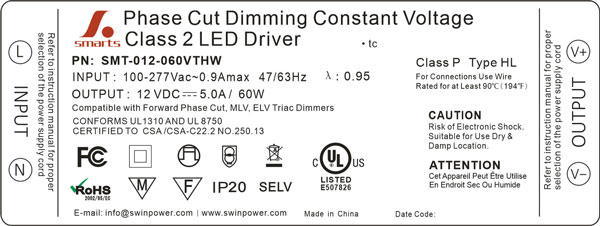 dimmable led driver canada