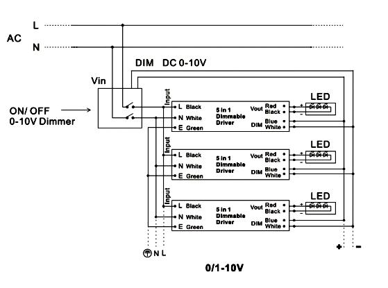 277v led driver constant voltage