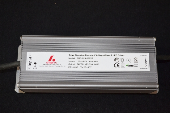 single oytput power supply 100w