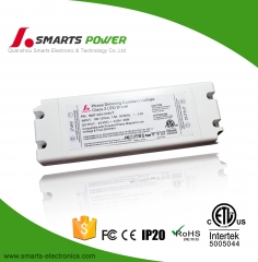 ETL listed Triac Dimmable 24v 48w LED Driver