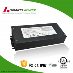 UL listed 277vac 12vdc Triac dimmable led driver