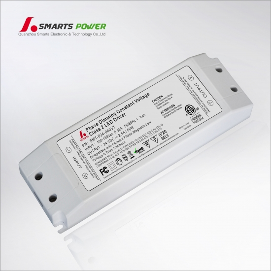 high efficiency led driver,triac dimming 24v 60w LED power supply,led bulb suppliers,24v led transformer