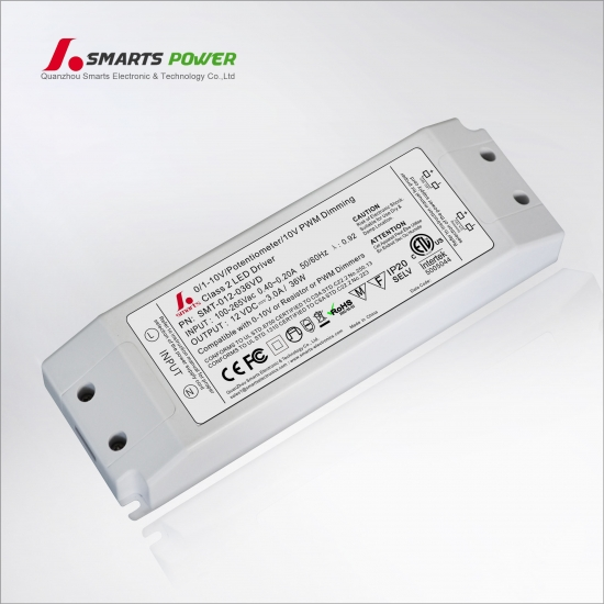 constant voltage 0-10v dimming led light driver