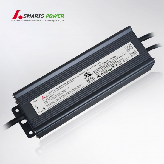 500mA 60W 0-10V/PWM dimmable LED driver