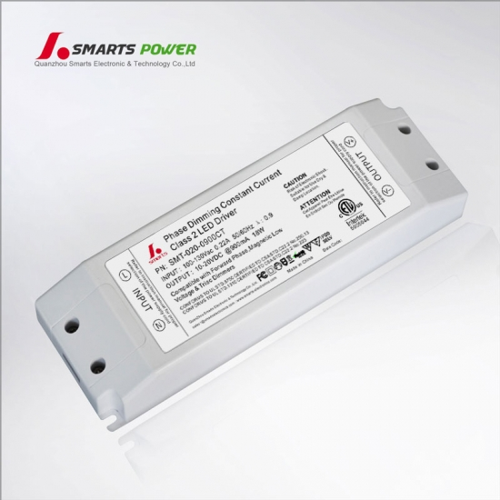 single output led driver for triac dimming