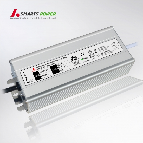 24V 90W Constant voltage LED power supply