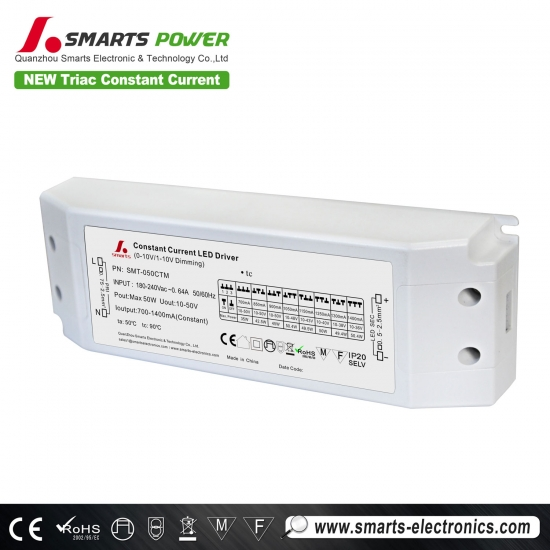 Best CE 50w 500ma 700ma Constant Current LED Driver Power Supply