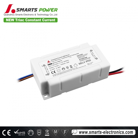 1050mA 24w triac dimmable driver