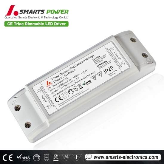 12v dc 12w class 2  power led power supply