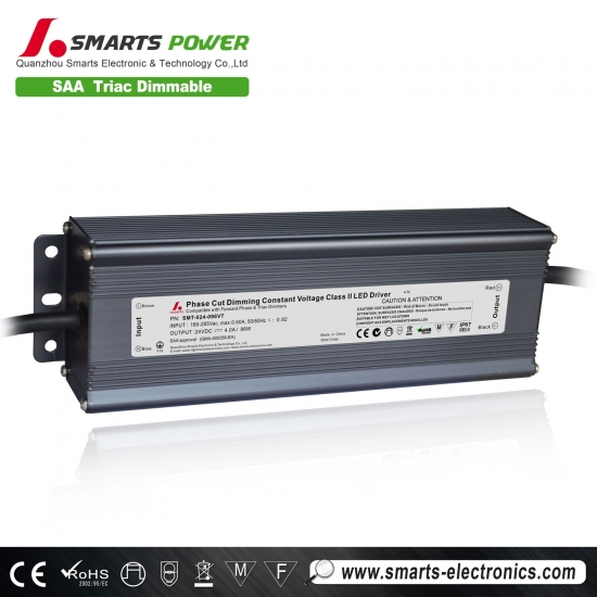 24v 96w 100w triac dimmable led driver
