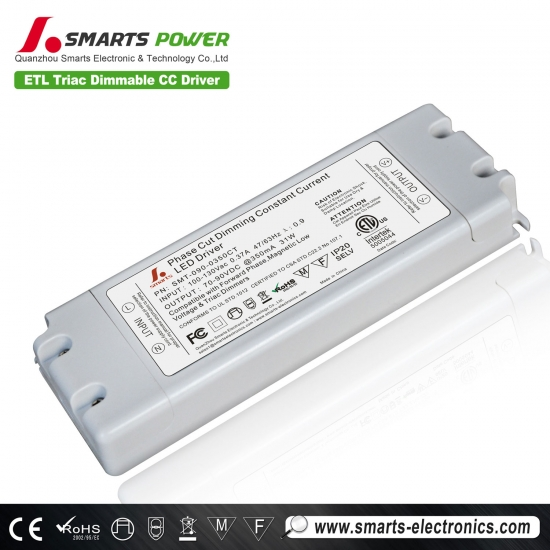350mA triac dimmable LED driver,led driver 350ma,350ma led driver dimmable
