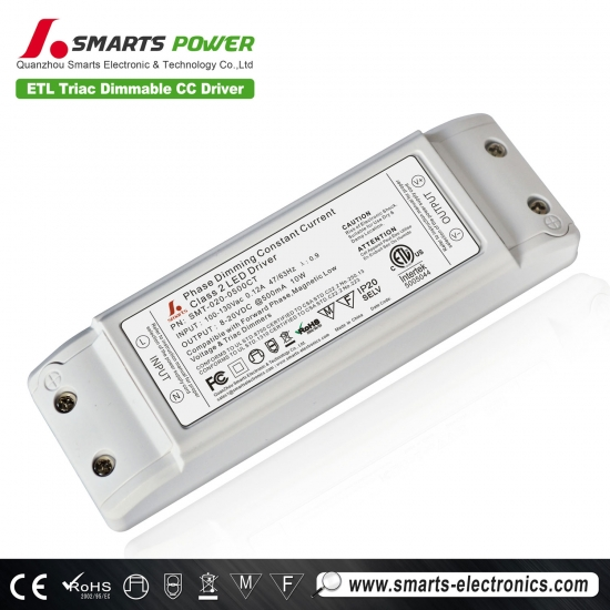 triac dimmable class2 LED power supply,constant current led driver,500ma dimmable led driver