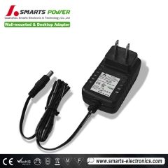 ac dc 24W power adapter 24VDC 1a with ce  rohs approval