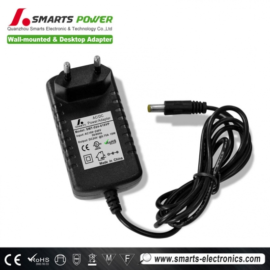 24v 18w power adapter