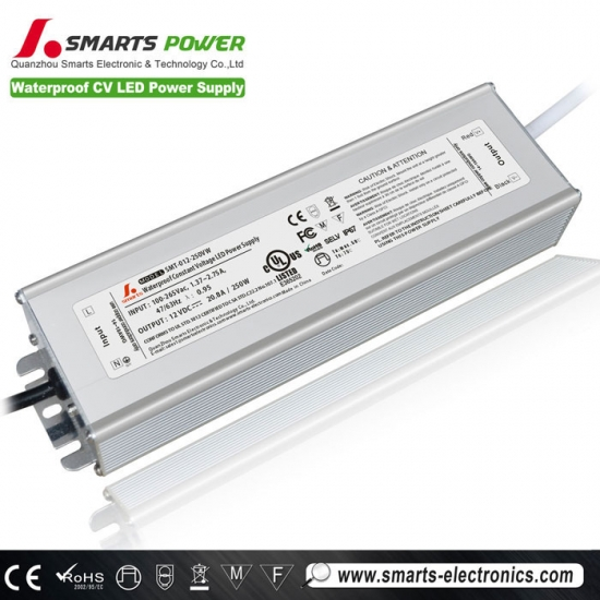 12V 250W Constant voltage LED power supply