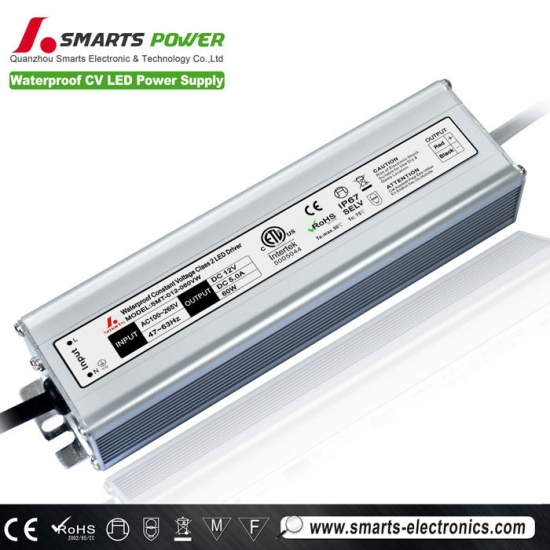ac dc single output 24V 60W LED power supply,waterproof led transformer for led light 60w,IP67 Aluminum cover LED power supply for led bulb,60W LED power supply,24V LED power supply,Constant voltage LED power supply