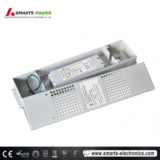110-277VAC constant voltage slim size non-dimmable led driver