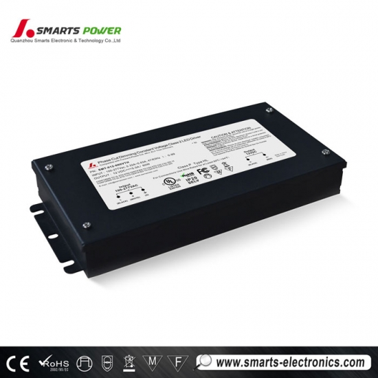 100-277vac Triac Dimmable LED Driver with UL CE Rohs Listed