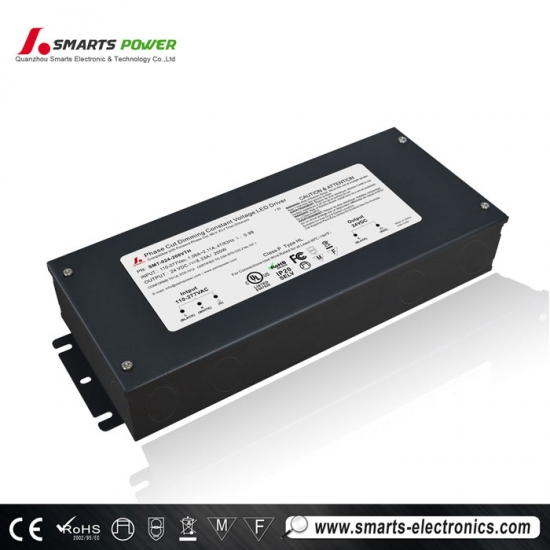 UL Listed 277VAC 24VDC Dimmable LED Driver
