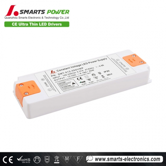 12V 50W Constant Voltage LED Power Supply with CE (LVD + EMC) Certification