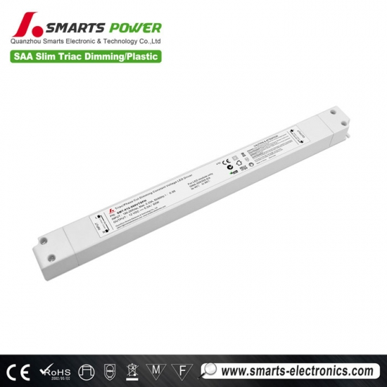 saa listed 12vdc 60w triac dimmable led driver