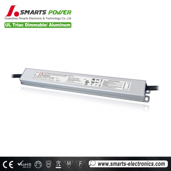 24v 30w constant voltage triac dimmable led driver