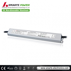 24 volt 60 watt CV led driver for LED lighting