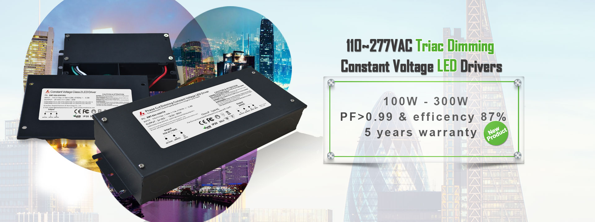 Constant Voltage LED Drivers