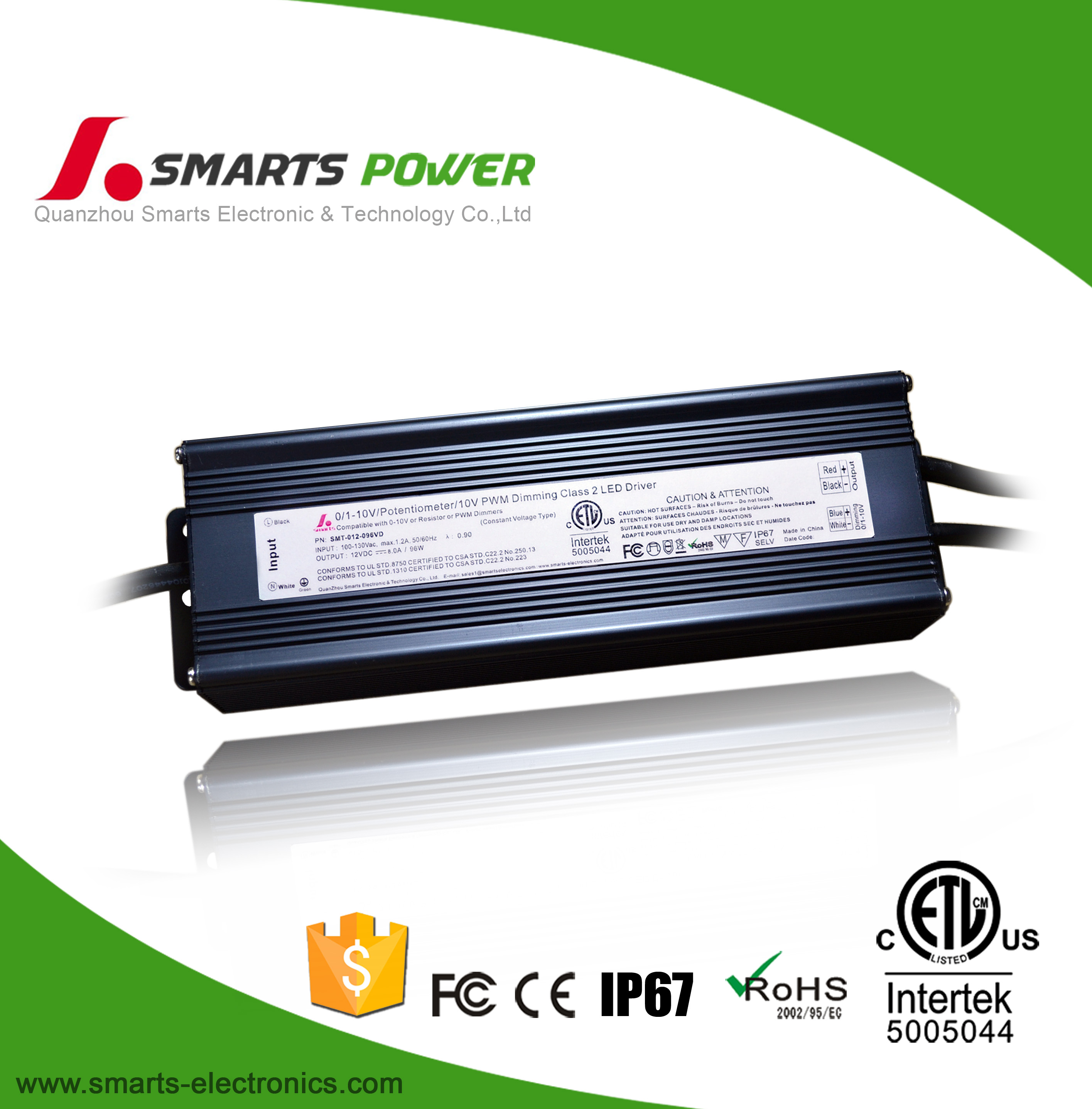 What is the differences of Smarts' 0-10v led driver from other vendors