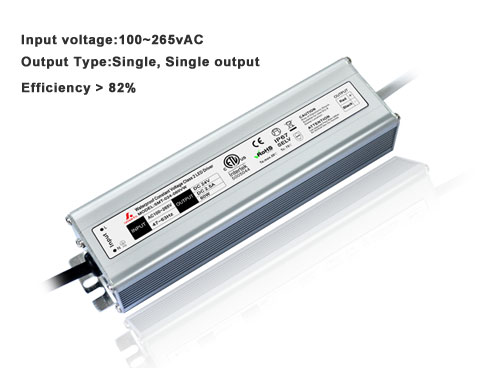 Physical display Waterproof Constant voltage  led driver 60W