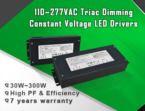 Connection mode and dimming effect of New Multi-Dim Regulated Dimmable constant voltage 12VDC & 24VDC LED Driver