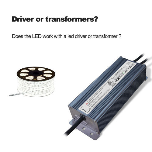 Driver or transformers?